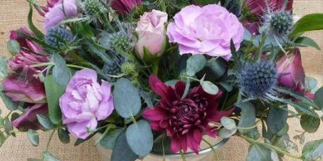 Floral Arranging -  Seven Sisters style tickets