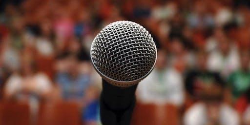 Public Speaking Master Class!
