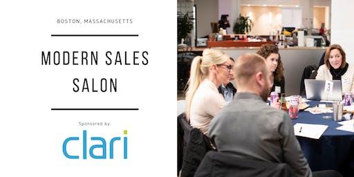 """Modern Sales Pro Salon - Boston #10 - """"Delivering Predictable Revenue"""" Night"""