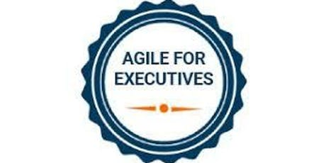 Agile For Executives Training in Denver on  Nov 15th, 2019 tickets