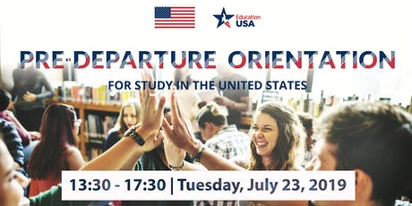 Pre-Departure Orientations for Study in the United States tickets