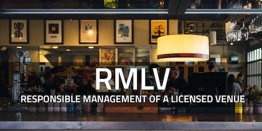 RMLV course - Brisbane South, June 27