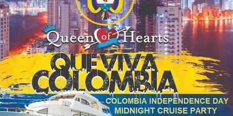 Colombian Independence Yacht Party tickets