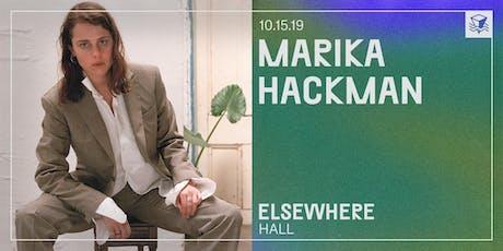 Marika Hackman @ Elsewhere (Hall) tickets