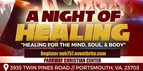 A Night of Healing & Prayer tickets