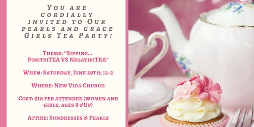 Pearls & Grace Girls Tea Party