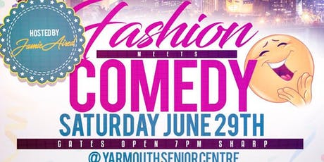 FASHION meets COMEDY tickets