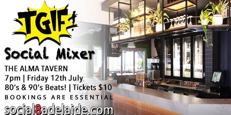 TGIF Social Mixer | The Alma Tavern tickets