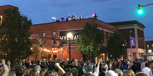 Beatles Rooftop Concert in Larkinville