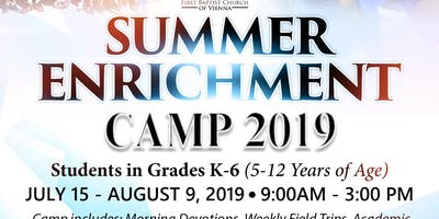 Summer Camp Pre-Registration