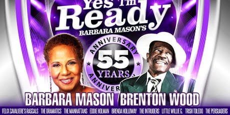 Barbara Mason, Brenton Wood, The Dramatics, The Manhattans, The Intruders + tickets