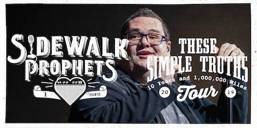 Sidewalk Prophets - These Simple Truths Tour - Goshen, IN