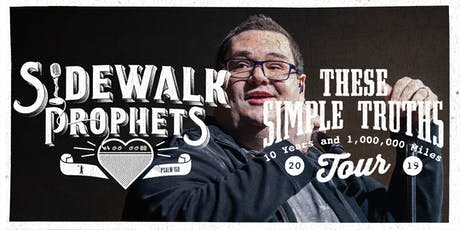 Sidewalk Prophets - These Simple Truths Tour - Van Buren, AR tickets