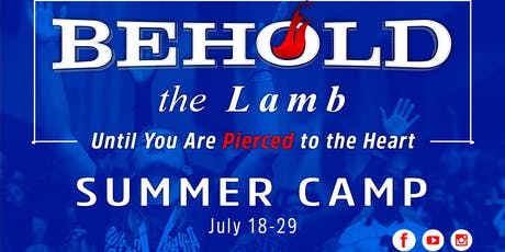 Behold the Lamb Summer Camp tickets