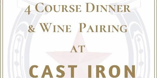 4 Course Wine Dinner Pairing