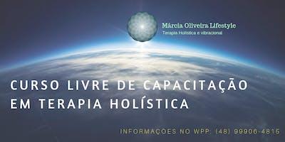 Curso livre de Capacitação em Terapia Holística