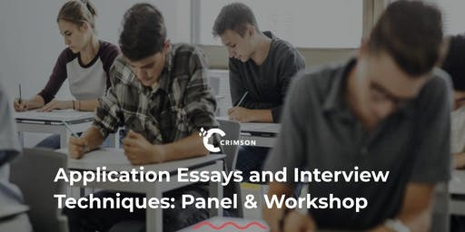 Application Essays and Interview Techniques: Panel & Workshop (Thailand)