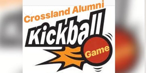 Crossland Alumni Kickball Game
