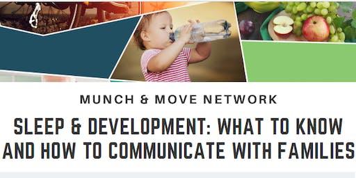 Munch & Move Network: Sleep & Development - Dapto