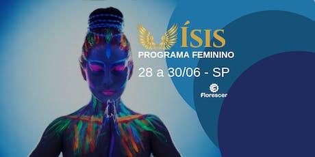 Programa Ísis para Mulheres - Junho Sampa ingressos