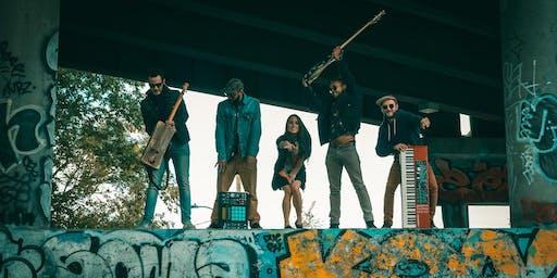 Wu-Sen & The Fam ( Maroc) et DJ Trow (Sherbrooke/Maroc)en fin de party