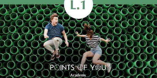 POINTS OF YOU® L.1 HELLO POINTS! WORKSHOP/TRAINING, August 3rd (New Jersey)