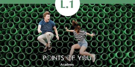 POINTS OF YOU® L.1 HELLO POINTS! WORKSHOP, September 8 (Denver/Boulder)