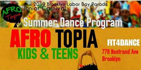 Afrotopia Kids Dance  Class Ages 5-10 tickets