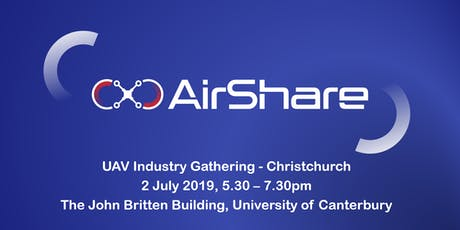 AirShare Christchurch UAV Industry Gathering tickets