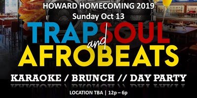 Trap, Soul, Afrobeats Brunch Day Party (Howard Homecoming)