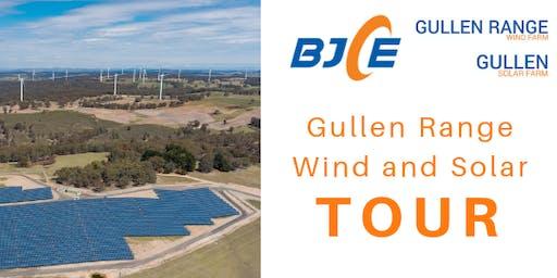 Gullen Range Wind & Solar Farm Tours