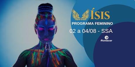 Programa Ísis para Mulheres - Salvador (agosto) ingressos