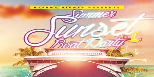 Summer Sunset Boat Party