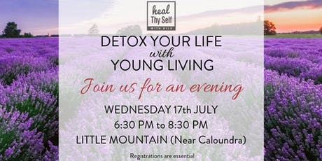 Detox Your Life With Young Living  tickets