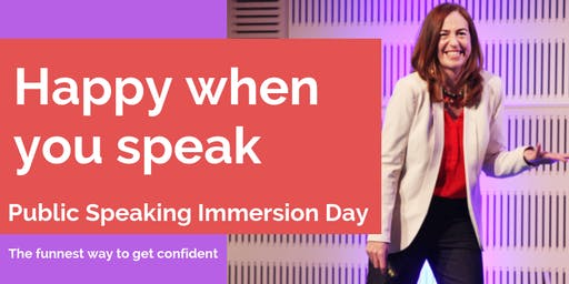 Confident Public Speaking Immersion Day with Cath Vincent
