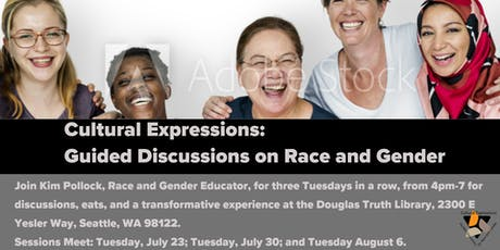 Cultural Expressions: Guided Discussions about Race and Gender tickets