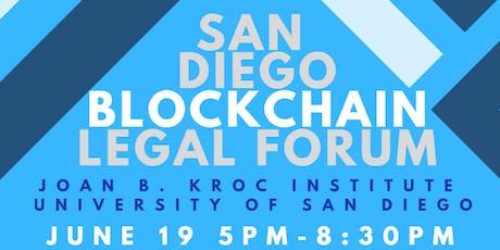 San Diego Blockchain Legal Forum tickets