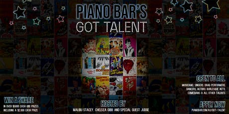 Piano Bar's Got Talent tickets