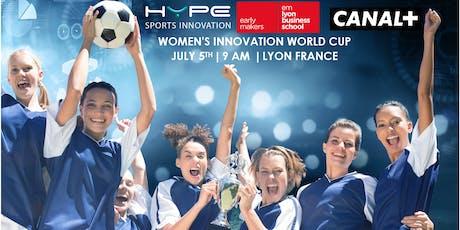 2019 Women's Innovation World Cup alongside the FIFA Women world cup tickets