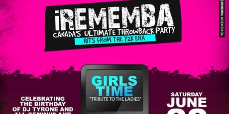 """iRememba """"Tribute To The Ladies"""" tickets"""