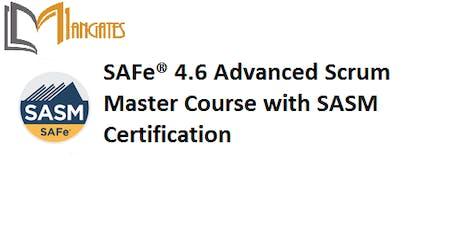 SAFe® 4.6 Advanced Scrum Master 2 Days Training in Scottsdale, AZ tickets