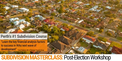 Subdivision Workshop: Post-Election Masterclass