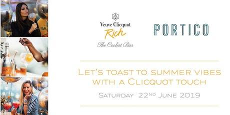 The Coolest Bar: A Veuve Clicquot Rich Party tickets