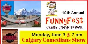 MONDAY, June 3 @ 7 pm CALGARY COMICS COMEDY SHOWCASE -...