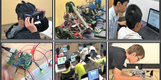 Coding, Robotics & Tech Summer Camps 2019