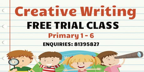 PROMOTION ENDED! Creative Writing TRIAL CLASSES tickets