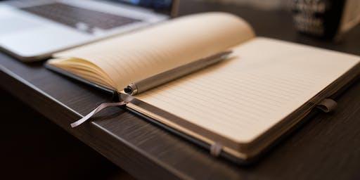 The Write Stuff: Owen Bullock  (Adults 16+) (Gungahlin Library)