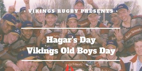 Vikings Rugby 2019 Hagar's Day tickets