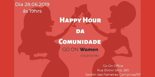 Happy Hour da Comunidade Go On Women