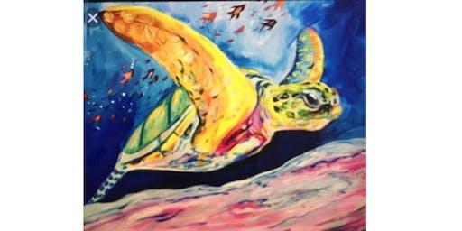 Swim Mama Turtle - Canberra